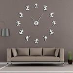Wall Clock Cartoon Kid Room Wall Decor