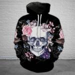 Floral Dark SKull T-Shirt/Hoodie/Sweatshirt