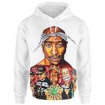 Tupac Shakur White Ver. T-Shirt/Hoodie/Sweatshirt