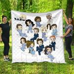 Grey Lover Ver 11 Quilt Blanket