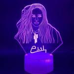 Billie Eilish Home Decor Table Lamp Fans Gift3D