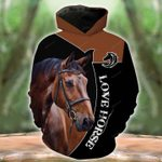 Brown Nature Horse T-Shirt/Hoodie/Sweatshirt