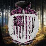 Deer Flag Camo Pink T-Shirt/Hoodie/Sweatshirt