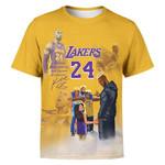 Kobe With Rapper T-Shirt/Hoodie/Sweatshirt