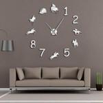 Wall Clock Farmhouse Home Decor Cowboys Modern Design