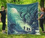 HP Ver 12 Quilt Blanket
