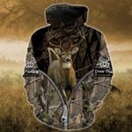Deer Running Out Camo T-Shirt/Hoodie/Sweatshirt