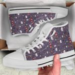 HP High Top White Shoes