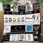 Grey Lover Ver 5 Quilt Blanket