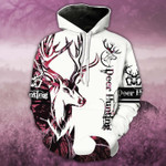 Pink Neon Deer Hunting T-Shirt/Hoodie/Sweatshirt