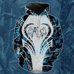 Blue 3 Horse Camo T-Shirt/Hoodie/Sweatshirt