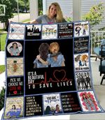 Grey Lover Ver 4 Quilt Blanket