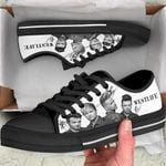 WLife Low Top Black Shoes