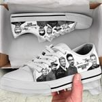 BStreet Boys Low Top White Shoes