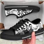 BStreet Boys Low Top Black Shoes