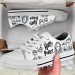 HP Lover Low Top White Shoes