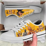 Nipkobe Low Top White Shoes