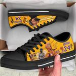 Nipkobe Low Top Black Shoes