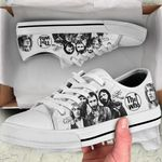 TWh BW Low Top White Shoes