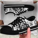 TWh BW Low Top Black Shoes