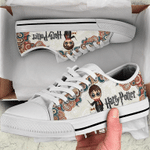 Martin Low Top White Shoes