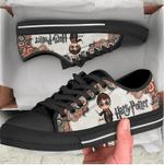 Martin Low Top Black Shoes