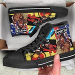 Martin High Top Black Shoes