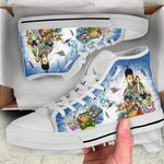 Will Smith High Top White Shoes