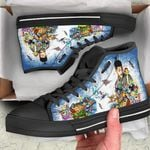 Will Smith High Top Black Shoes