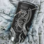 Dragon Stainless Steel Tumbler Perfect Gifts For Dragon Lover Tumbler Cups For Coffee/Tea, Great Customized Gifts For Birthday Christmas Thanksgiving