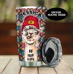 Personalized No Prob Llama Stainless Steel Tumbler Perfect Gifts For Llama Lover Tumbler Cups For Coffee/Tea, Great Customized Gifts For Birthday Christmas Thanksgiving