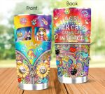 Hippie A Girl And Her Cats Living Life In Peace Stainless Steel Tumbler Perfect Gifts For Hippie Lover Tumbler Cups For Coffee/Tea, Great Customized Gifts For Birthday Christmas Thanksgiving
