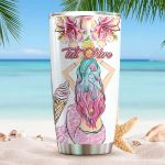 Personalized Mermaid Stainless Steel Tumbler Perfect Gifts For Mermaid Lover Tumbler Cups For Coffee/Tea, Great Customized Gifts For Birthday Christmas Thanksgiving