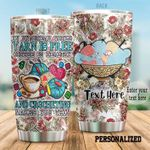 Personalized Crochet In My Dream World Yarn Is Free Steel Tumbler Perfect Gifts For Crochet Lover Tumbler Cups For Coffee/Tea, Great Customized Gifts For Birthday Christmas Thanksgiving