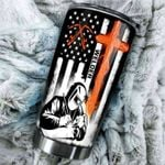 Welder Flag Stainless Steel Tumbler, Tumbler Cups For Coffee/Tea, Great Customized Gifts For Birthday Christmas Thanksgiving