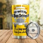 Be Nice To The Bus Driver Stainless Steel Tumbler Perfect Gifts For School Bus Driver Tumbler Cups For Coffee/Tea, Great Customized Gifts For Birthday Christmas Thanksgiving