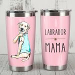 Labrador Retriever Dog Labrador Mama Stainless Steel Tumbler, Tumbler Cups For Coffee/Tea, Great Customized Gifts For Birthday Christmas Thanksgiving81o36