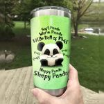 Panda Soft Panda Warm Panda Little Ball Of Fluff Stainless Steel Tumbler Perfect Gifts For Panda Lover Tumbler Cups For Coffee/Tea, Great Customized Gifts For Birthday Christmas Thanksgiving