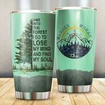 Camping I Go To Lose My Mind Stainless Steel Tumbler Perfect Gifts For Camping Lover Tumbler Cups For Coffee/Tea, Great Customized Gifts For Birthday Christmas Thanksgiving