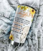 Personalized Elephant To My Daughter From Mom Behind You To Have Your Back Stainless Steel Tumbler Perfect Gifts For Elephant Lover Tumbler Cups For Coffee/Tea, Great Customized Gifts For Birthday Christmas Thanksgiving