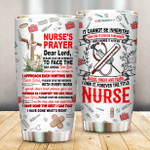 Nurse Medical Equipment Please Give Me Strength Stainless Steel Tumbler Perfect Gifts For Nurse Tumbler Cups For Coffee/Tea, Great Customized Gifts For Birthday Christmas Thanksgiving
