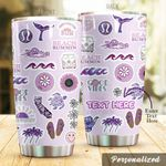Personalized Hippie Steel Tumbler Perfect Gifts For Hippie Lover Tumbler Cups For Coffee/Tea, Great Customized Gifts For Birthday Christmas Thanksgiving