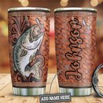 Personalized Fishing Steel Tumbler Perfect Gifts For Fishing Lover Tumbler Cups For Coffee/Tea, Great Customized Gifts For Birthday Christmas Thanksgiving