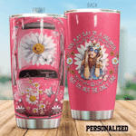 Hippie Car Girl Daisy Butterfly But I'm Not The Only One Stainless Steel Tumbler Perfect Gifts For Hipppie Tumbler Cups For Coffee/Tea, Great Customized Gifts For Birthday Christmas Thanksgiving