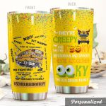 School Bus Driver They're Creepy Stainless Steel Tumbler Perfect Gifts For School Bus Driver Tumbler Cups For Coffee/Tea, Great Customized Gifts For Birthday Christmas Thanksgiving