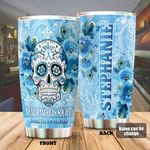 Personalized Diabetes Skull Dead Pancreas Society Stainless Steel Tumbler Perfect Gifts For Diabetes Tumbler Cups For Coffee/Tea, Great Customized Gifts For Birthday Christmas Thanksgiving