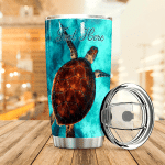 Personalized Turtle Stainless Steel Tumbler Perfect Gifts For Turtle Lover Tumbler Cups For Coffee/Tea, Great Customized Gifts For Birthday Christmas Thanksgiving