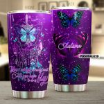 Personalized Butterfly Your Wings Already Exit Stainless Steel Tumbler Perfect Gifts For Butterfly Lover Tumbler Cups For Coffee/Tea, Great Customized Gifts For Birthday Christmas Thanksgiving