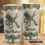 Personalized Hair Hustler Mandala Stainless Steel Tumbler Perfect Gifts For Hair Hustler Tumbler Cups For Coffee/Tea, Great Customized Gifts For Birthday Christmas Thanksgiving