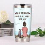 Siamese Cat Best Friends Come In All Shape And Sizes Stainless Steel Tumbler Perfect Gifts For Cat Lover Tumbler Cups For Coffee/Tea, Great Customized Gifts For Birthday Christmas Thanksgiving